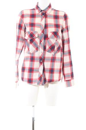Zara Woman Chemise de bûcheron motif à carreaux style décontracté