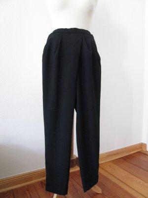 Zara Woman Hose Wickeloptik schwarz Gr.S