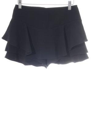Zara Woman Hot Pants schwarz Elegant