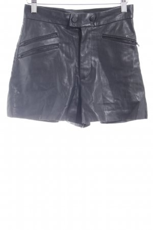 Zara Woman Hot Pants schwarz Elegant