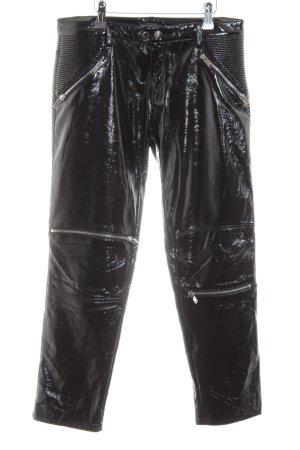 Zara Woman Low-Rise Trousers black casual look