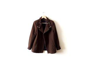 Zara Woman Jacke Gr. M 38 40 military oliv khaki grün biker trend