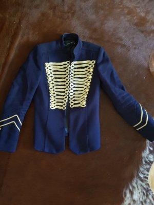 Zara Woman Oversized Jacket dark blue