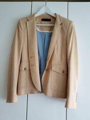 Zara Woman  Jacke Jacket 38 Beige blau2