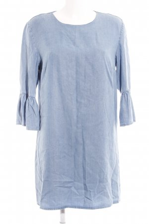 Zara Woman Jeanskleid kornblumenblau Casual-Look