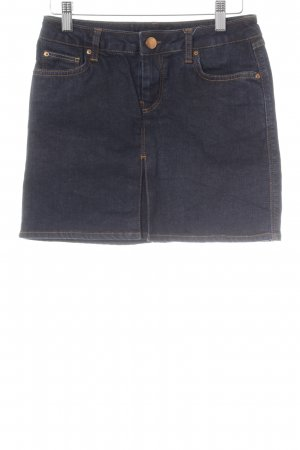 Zara Woman Jeansrock dunkelblau Casual-Look