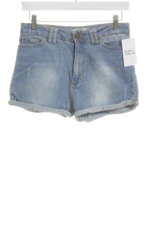 Zara Woman Jeansshorts himmelblau Casual-Look