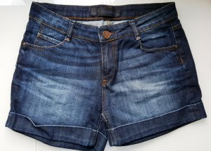 Zara Woman Shorts blu-blu scuro