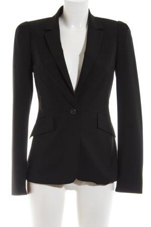 Zara Woman Jersey Blazer black business style