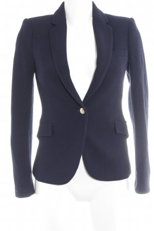 Zara Woman Jerseyblazer dunkelblau Business-Look