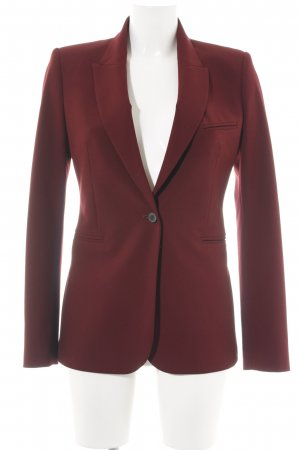Zara Woman Jerseyblazer rot Business-Look