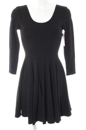 Zara Woman Jerseykleid schwarz Party-Look
