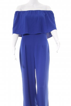 Zara Woman Jumpsuit blau Elegant