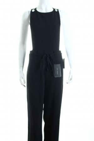Zara Woman Jumpsuit schwarz Eleganz-Look
