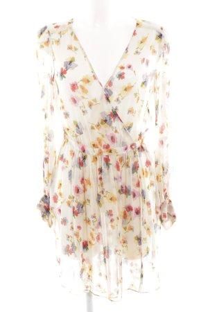 Zara Woman Caftan flower pattern casual look