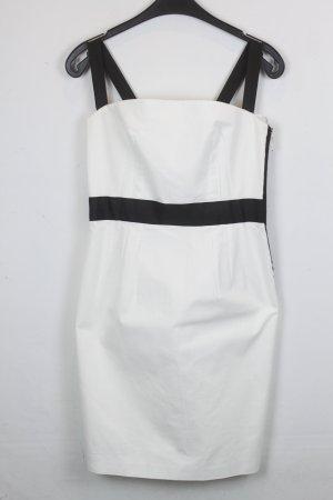 Zara Woman Kleid Etuikleid Gr. M schwarz/weiß (18/3/121)