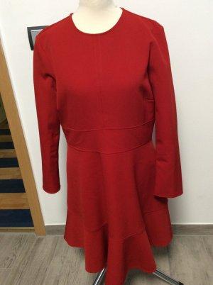 Zara Woman Kleid Gr L - rot