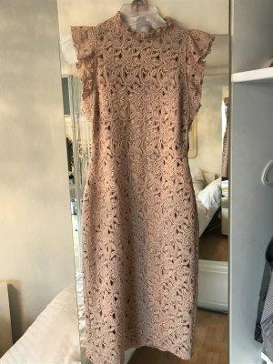 ZARA Woman Kleid in Pastell rosa, Größe s