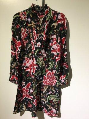 ZARA Woman Kleid S NEU mit Etikett Blumen