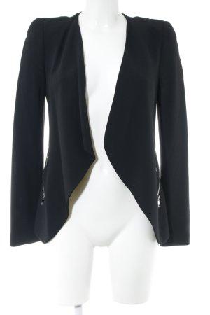 Zara Woman Kurz-Blazer schwarz Business-Look