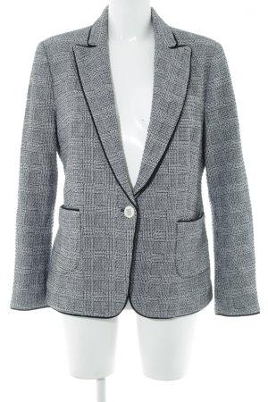 Zara Woman Kurz-Blazer hellgrau Business-Look