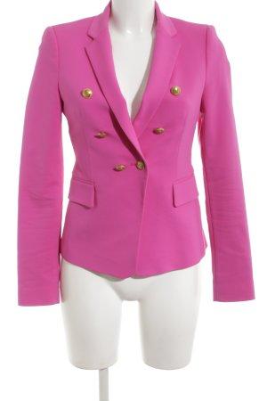 Zara Woman Kurz-Blazer pink Business-Look