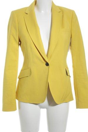 Zara Woman Kurz-Blazer gelb extravaganter Stil