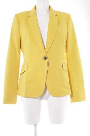 Zara Woman Kurz-Blazer goldorange Elegant