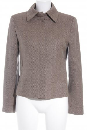 Zara Woman Kurz-Blazer grafisches Muster Brit-Look