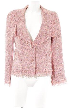 Zara Woman Kurz-Blazer meliert klassischer Stil