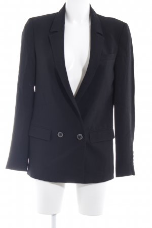 Zara Woman Blazer court noir style d'affaires