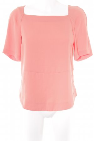 Zara Woman Kurzarm-Bluse orange Casual-Look