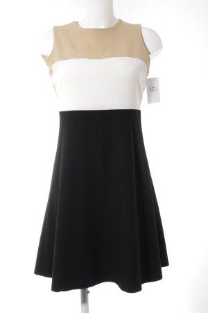 Zara Woman Kurzarmkleid Colourblocking Elegant