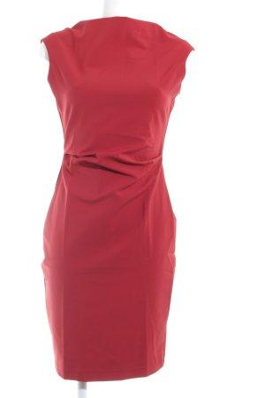 Zara Woman Kurzarmkleid rostrot Elegant