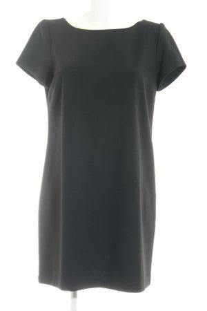 Zara Woman Kurzarmkleid schwarz Elegant