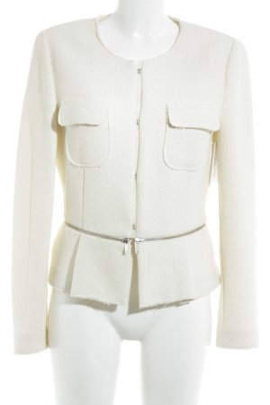 Zara Woman Kurzjacke creme Elegant