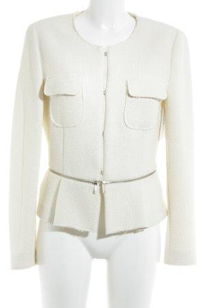 Zara Woman Chaqueta corta crema elegante