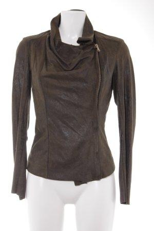 Zara Woman Kurzjacke khaki Casual-Look