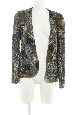 Zara Woman Kurzjacke mehrfarbig Glanz-Optik