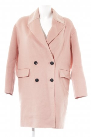 Zara Woman Kurzjacke rosa-lachs Business-Look