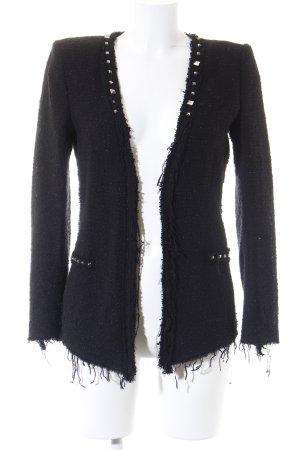 Zara Woman Kurzjacke schwarz Elegant