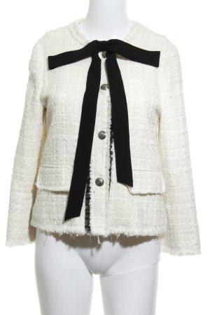 Zara Woman Kurzjacke wollweiß Street-Fashion-Look