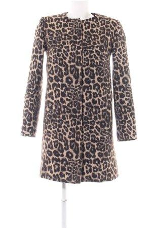 Zara Woman Short Coat allover print elegant