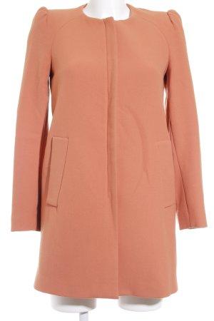 Zara Woman Kurzmantel lachs Casual-Look