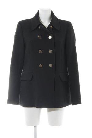 Zara Woman Manteau court noir style décontracté
