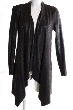 Zara Woman Kurzmantel schwarz Casual-Look