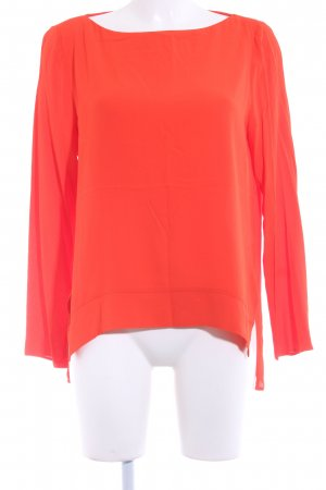 Zara Woman Langarm-Bluse neonorange Casual-Look