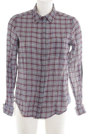 f25291a76 Zara Woman Camisa de manga larga estampado a cuadros look casual
