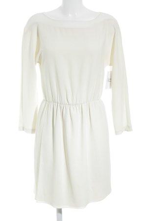 Zara Woman Langarmkleid creme Business-Look