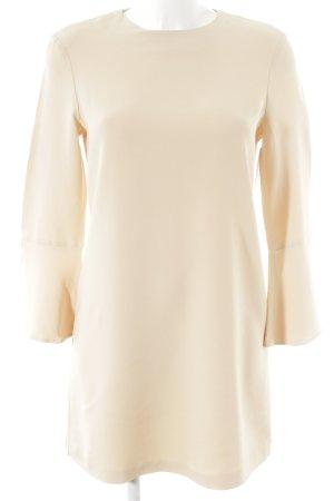 Zara Woman Langarmkleid nude klassischer Stil